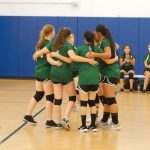 Eastside Christian High School Girls Varsity Volleyball defeats Crossroads Christian 3-2