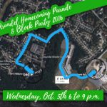 Homecoming Parade and Block Party Oct. 5, from 6 to 9 p.m.
