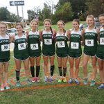 Girls Varsity Cross Country finish 4th at County Championship at Chesapeake HS on 25 October 2017