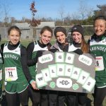 Girls Varsity Cross Country finish 17th in State Championship at Bull Run (Hereford)
