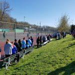Coed Varsity Tennis falls to South River 5 – 4