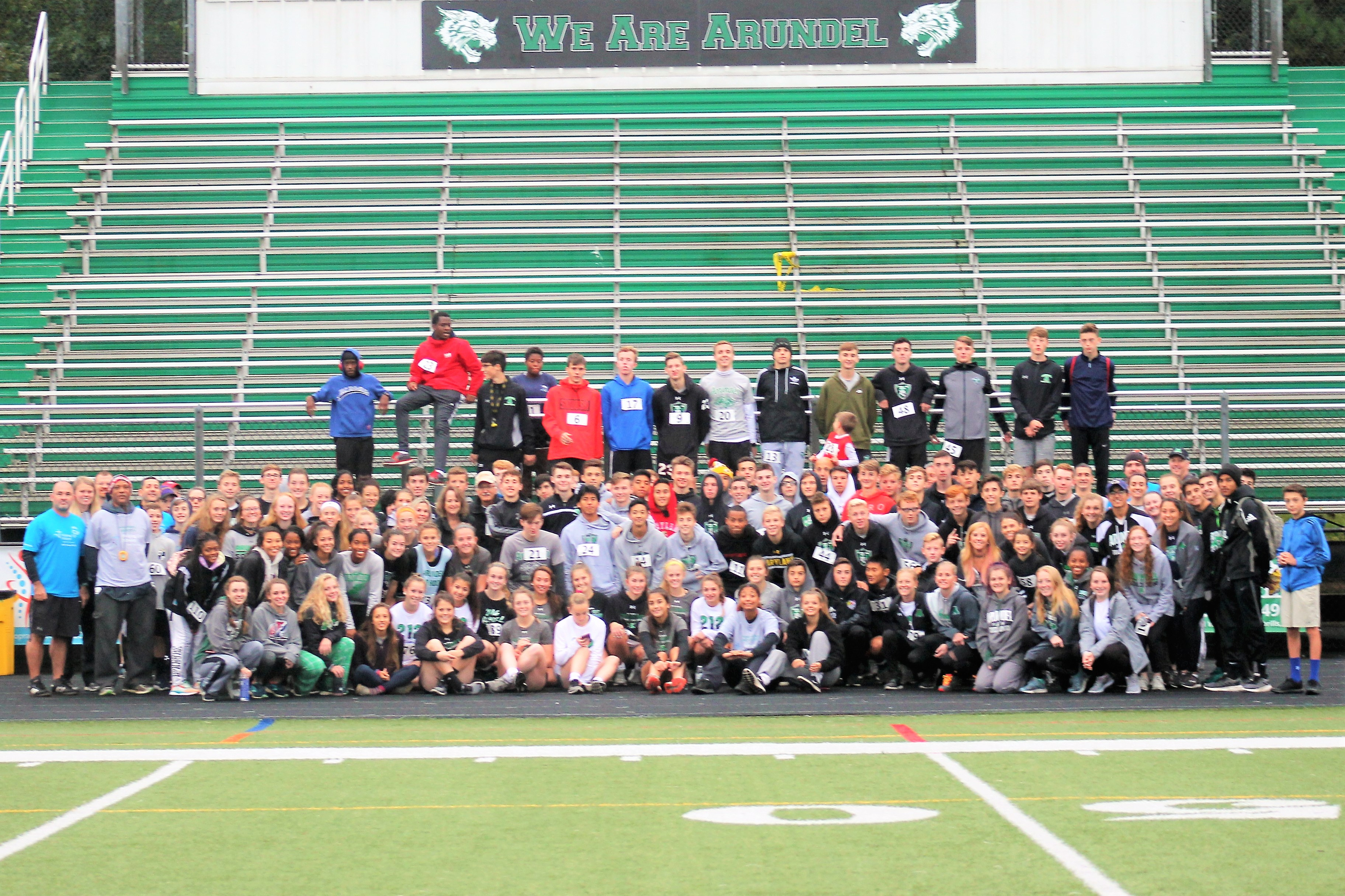 "Arundel Soccer Hosts 5K Race benefiting ""Helping Up Mission"""