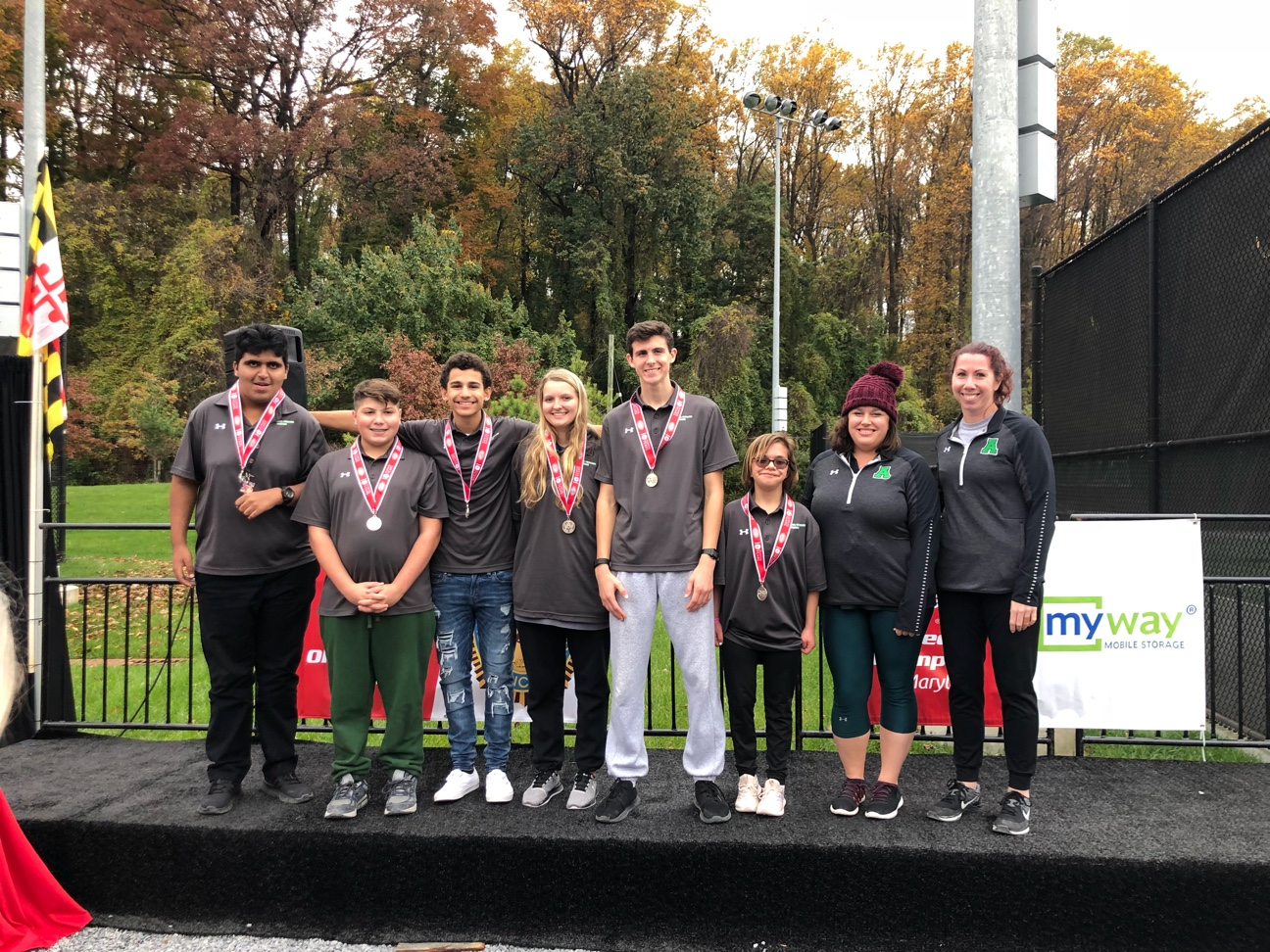 Wildcat Unified Tennis Finishes in 2nd Place at State Championships!