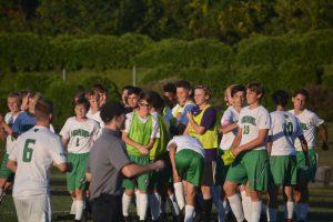 9/19 JV Boys Soccer vs. Westminster HS