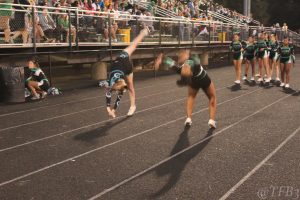 Arundel Football vs. South River Homecoming Cheerleaders 9-27-19