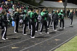 Arundel Varsity Football Cheerleaders @ Broadneck 11-1-19