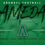 Arundel Football Continues Playoff Run Tonight at South River