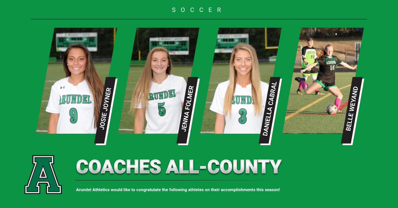Girls Soccer All-County