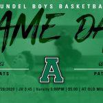 Boys Basketball: Gameday