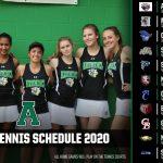 Tennis Schedule Release 2020
