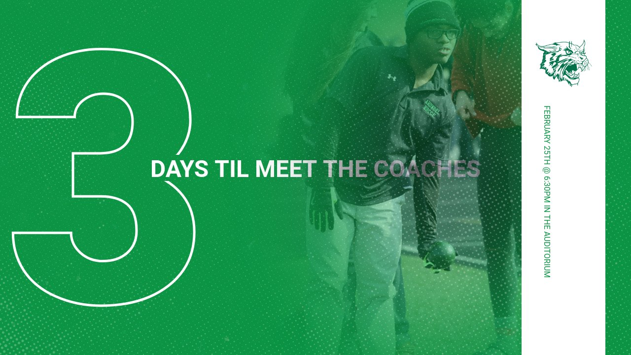 3 Days Until Meet-the-Coaches Night