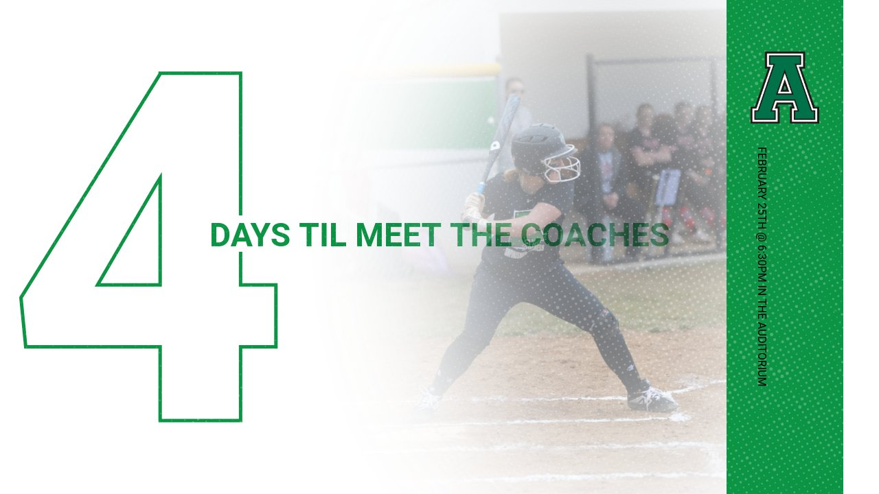 4 Days Until Meet-the-Coaches Night