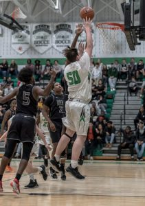 Varsity Boys Basketball vs Meade High School 02/19/2020 Courtesy of Travis Bonfigli Photography