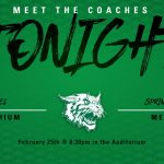 SPRING MEET-THE-COACHES IS TONIGHT!