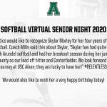 Virtual Senior Night 2020: Softball