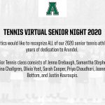 Virtual Senior Night 2020: Tennis
