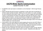 AACPS UPDATE ON WINTER ATHLETICS