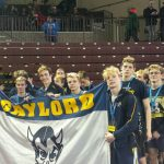 Gaylord High School Boys Varsity Wrestling falls to St. Johns High School 11-55