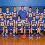 Clyde Boys 8th Grade Basketball beat Edison Middle School 50-32