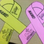T-shirts and Ribbons are available for Saturday's Slam Dunking Cancer Pink Games on Saturday, February 11th, 2017