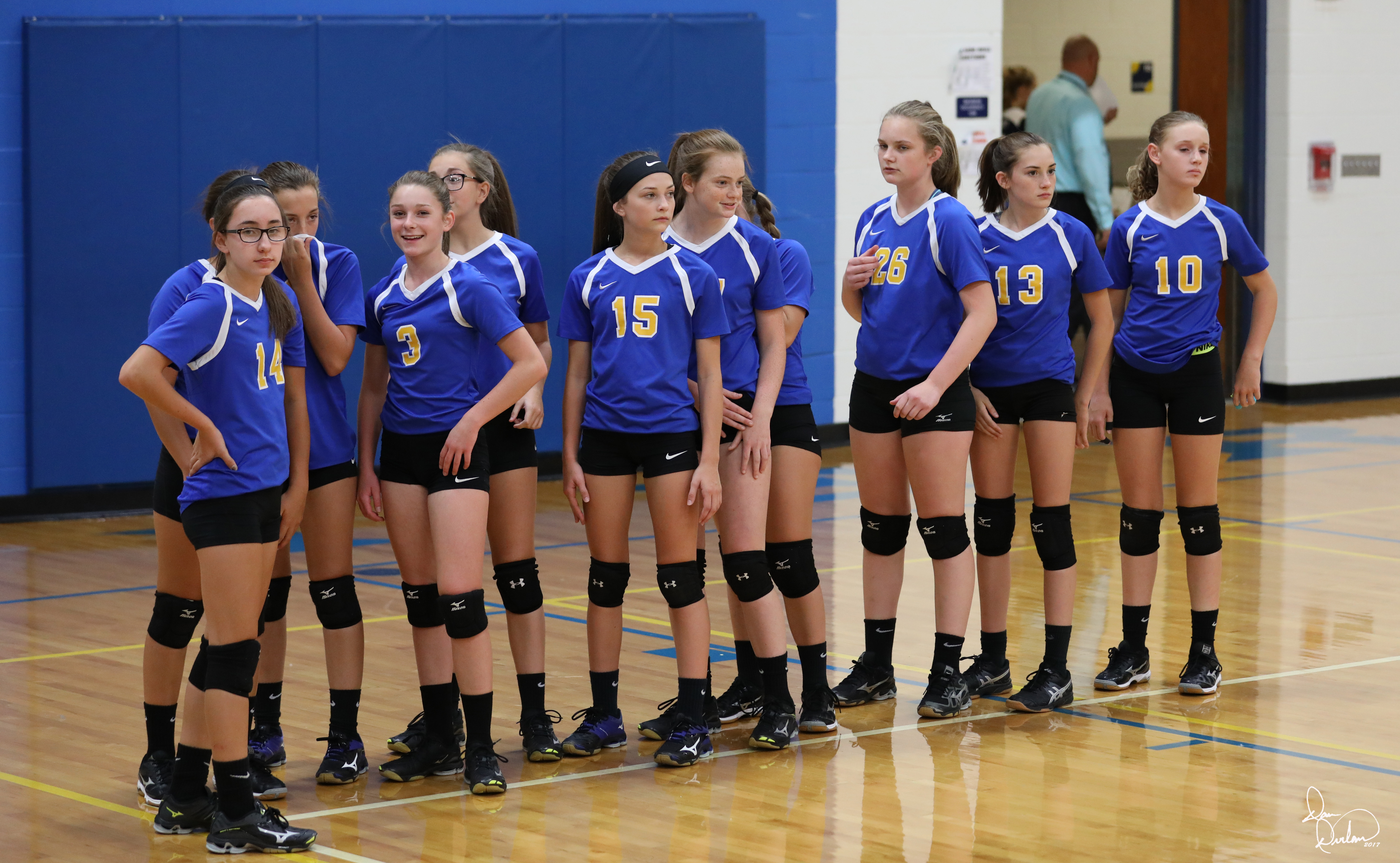 Congrats to the 8th grade Volleyball – SBC CHAMPS!