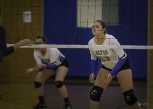 Clyde HS Volleyball vs Tiffin