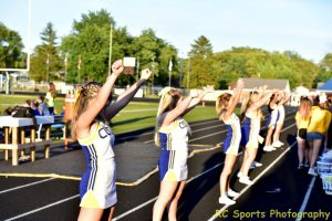 Varsity Cheer Vs Port Clinton