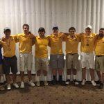 Boys Varsity Golf beats Norwalk 168 – 164