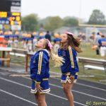 7th Grade Flier Cheer vs TC pics