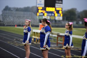 8th Grade Cheer vs TC