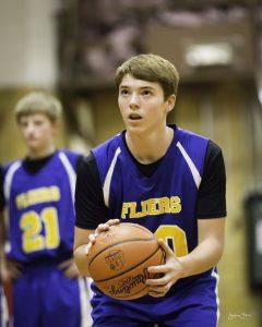 Clyde 8th Grade Boys Basketball Bombs the Rockets