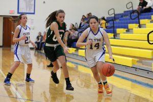 8th grade Girls Basketball vs Oak Harbor