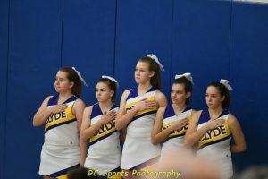 Freshman Cheer vs Put-in-Bay pics