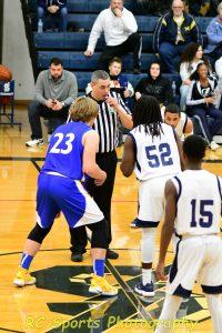 JV Boys Basketball Vs Sandusky pics