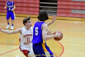 Boys Freshman Basketball vs St. Joe Pics Clyde 39-38 in ot