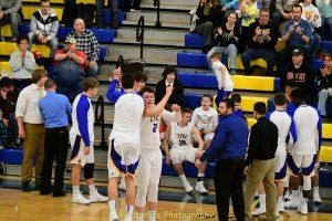 Varsity Boys Basketball Win Over Sandusky pics