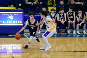 Freshman Boys Basketball win vs Tiffin
