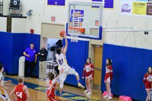 Freshman Boys Basketball win over Huron pics