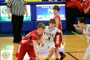 Freshman Boys Basketball Big win vs Bellevue pics