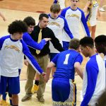 Varsity Boys Basketball Sectional win over Ontario Pics