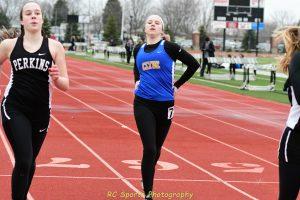 Girls Varsity Track vs Perkins