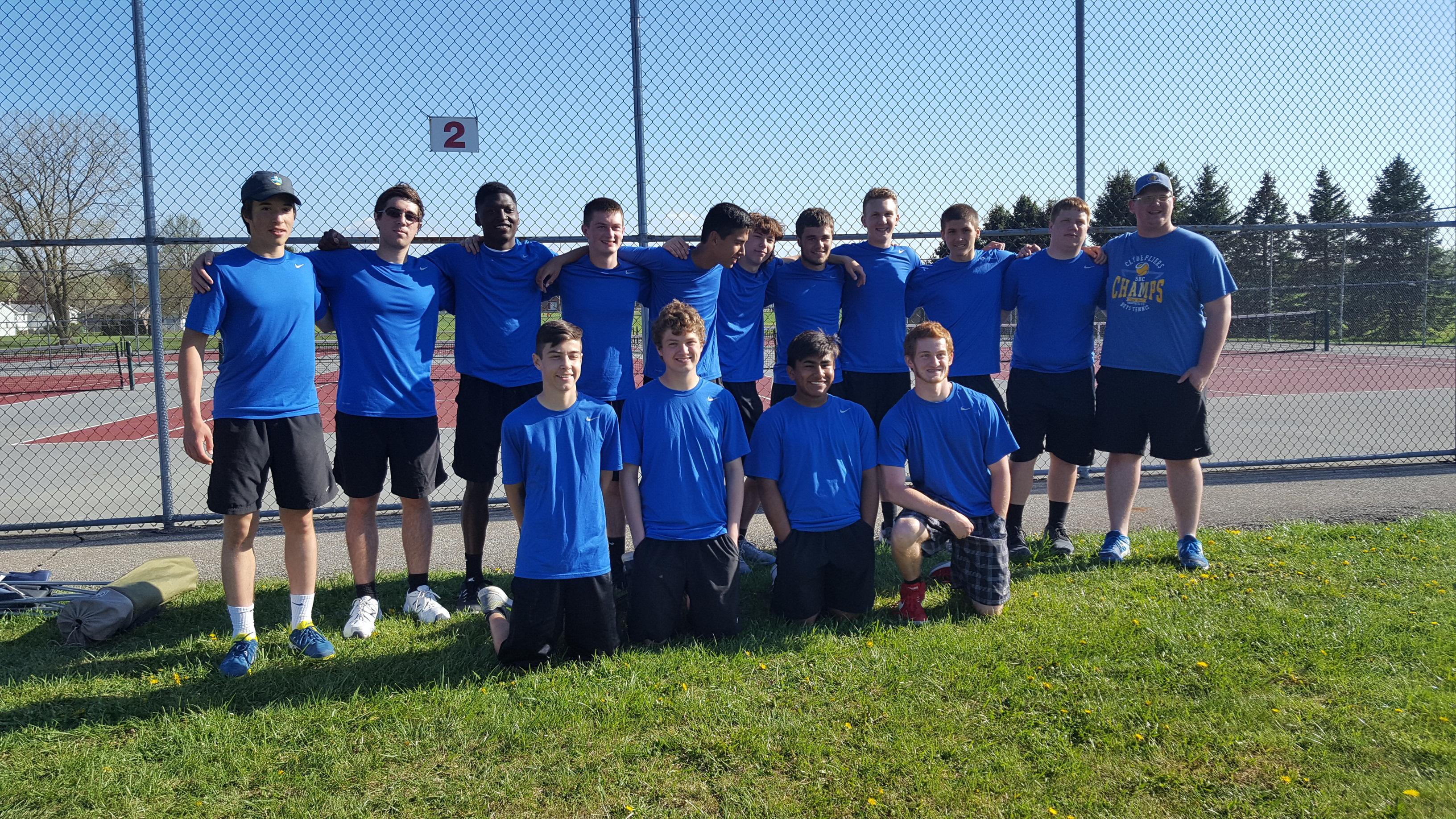 Congrats to the Men's Tennis team!