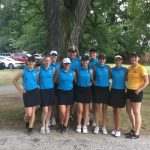 Girls Varsity Golf beats Columbian 207 – 208