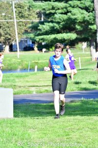Boys Cross country tri meet with Bellevue and Fremont