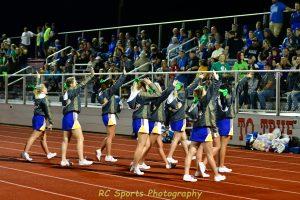 Varsity Cheer vs Port Clinton pics