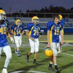 8th Grade football vs Perkins