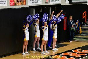 JV Cheer vs Tiffin Calvert pics