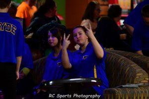 Girls Varsity Bowling Huron tourney