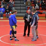 Flier Wrestling at Bellevue Quad meet