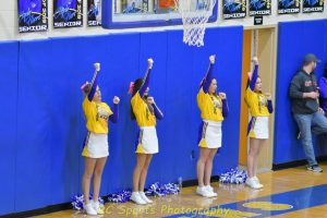 Varsity Cheer Vs St Joe pics